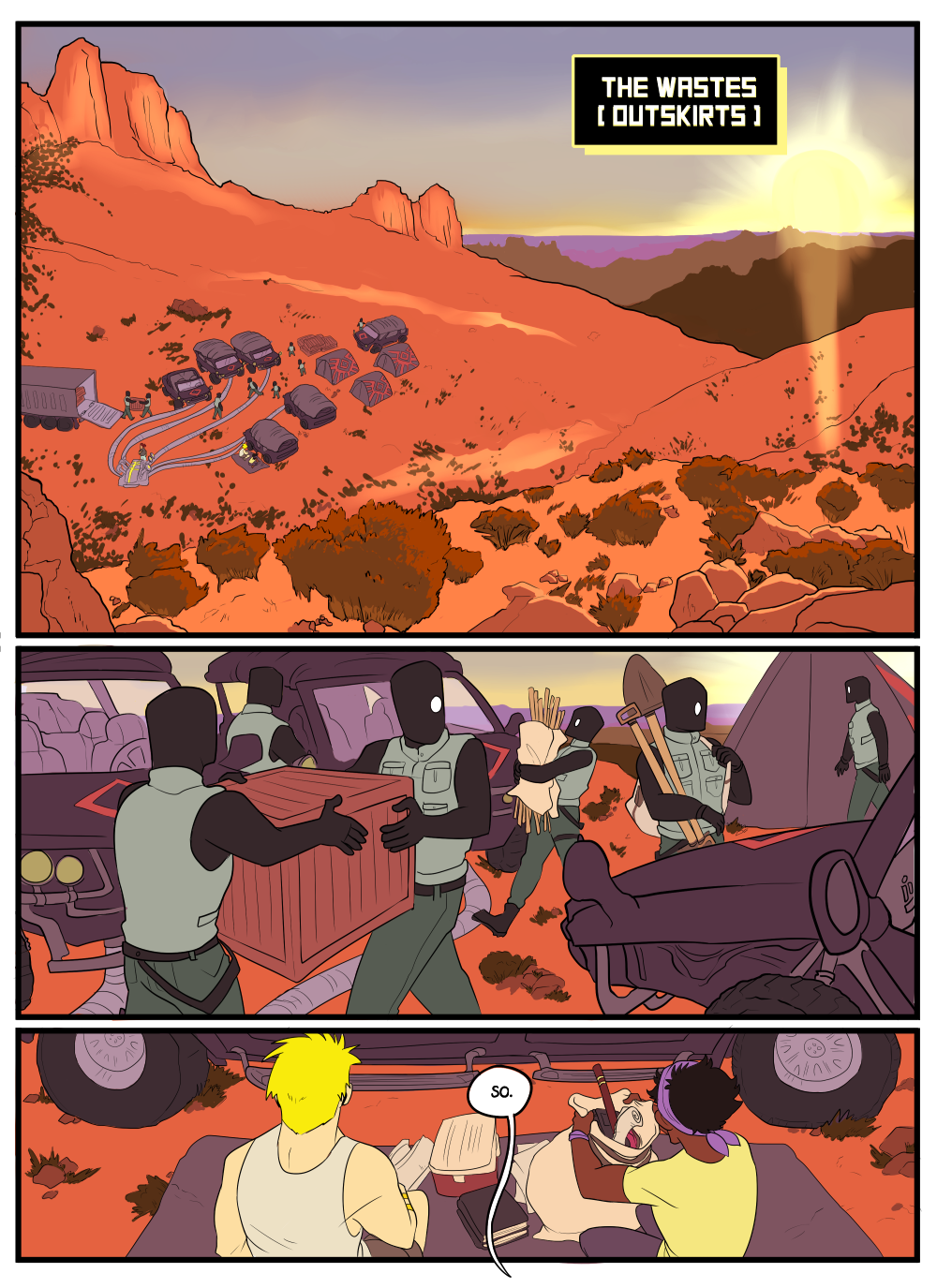 Welcome to chapter 5 - in which I have a crisis and totally change my coloring process