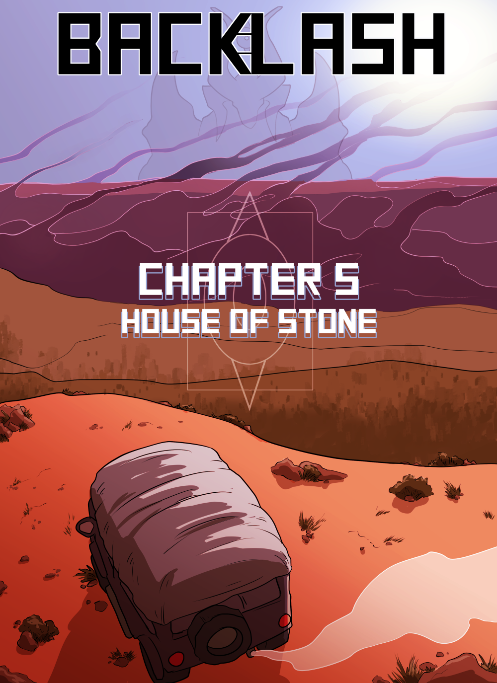 Betcha thought I forgot about the title page, huh?
